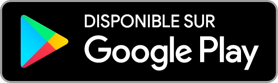 Disbonible sur Google Play